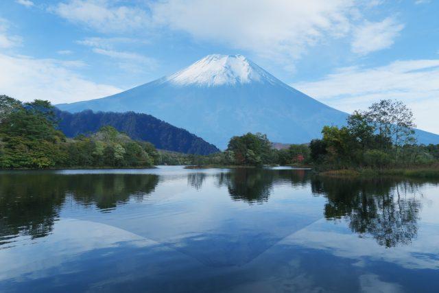 富士山と車中泊